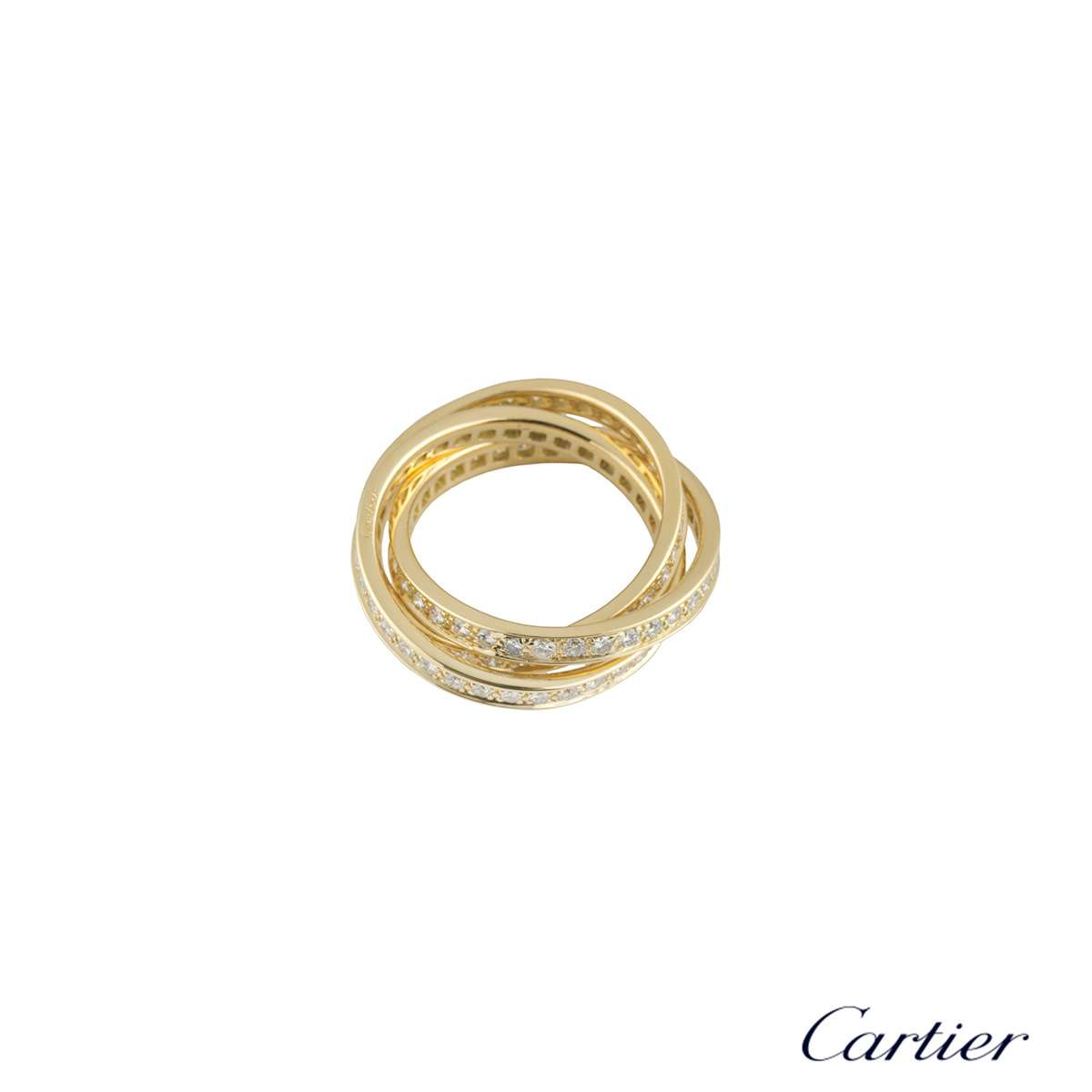 Yellow Gold Trinity de Cartier Ring